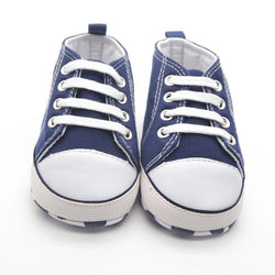 Infant Cotton Fabric First Walkers Soft Sole Shoes