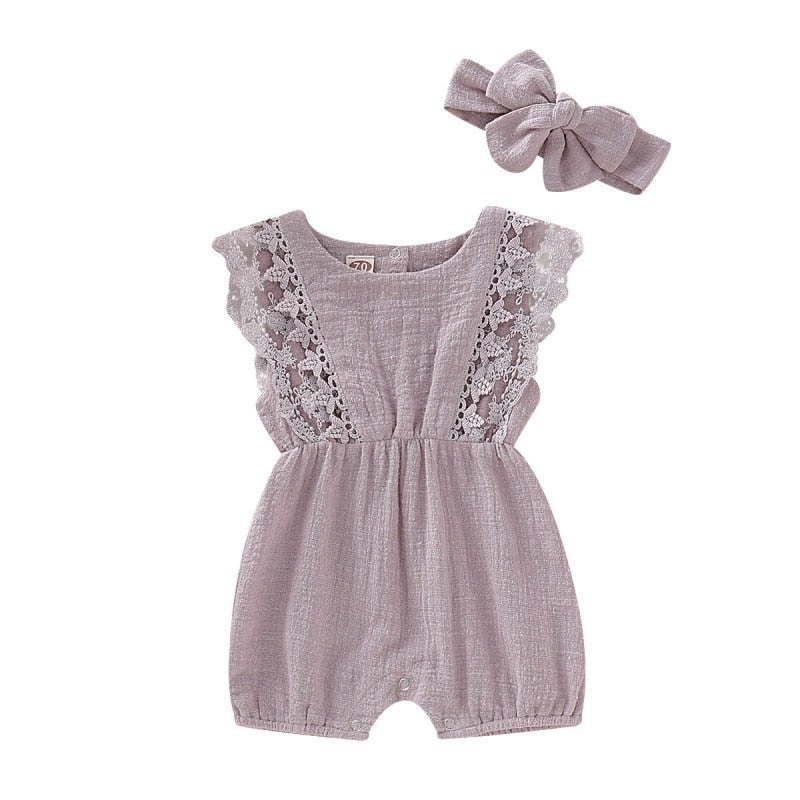Summer Baby Girl Rompers Newborn Baby Clothes