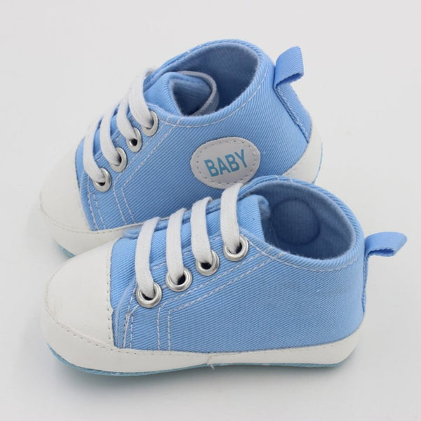 Boys Girls First Walkers Toddler Soft Sole Anti-slip Shoes