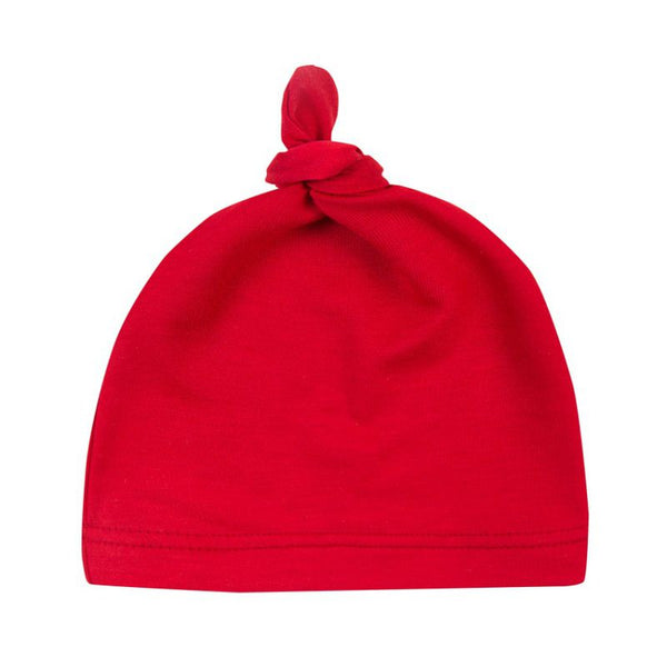 Baby Cotton Knot Beanies Toddler Girls Sleep Caps