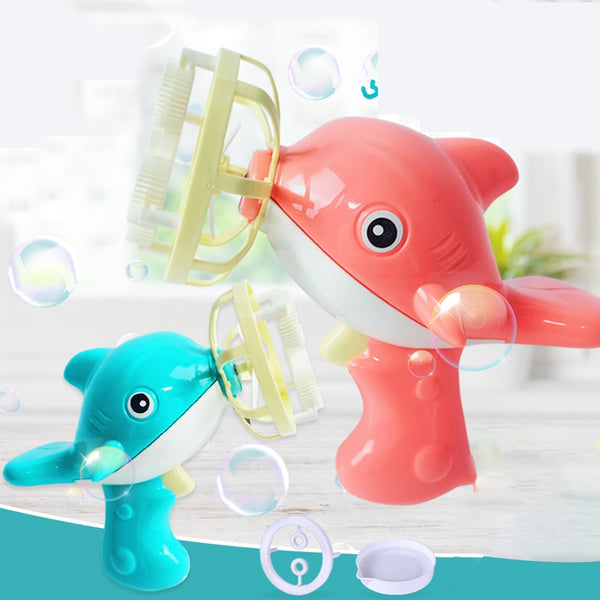 Automatic Bubble Maker Gun with Mini Fan