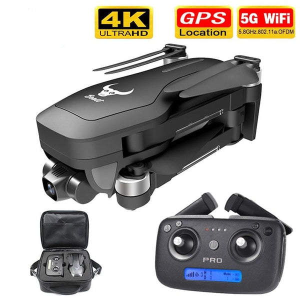 HD mechanical gimbal camera 5G wifi gps system supports