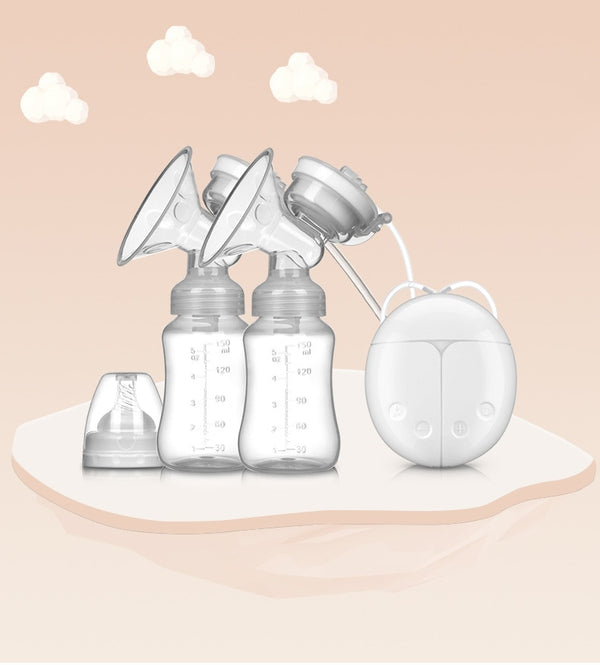 Double Bilateral Electric Breast Pump Milker Suction