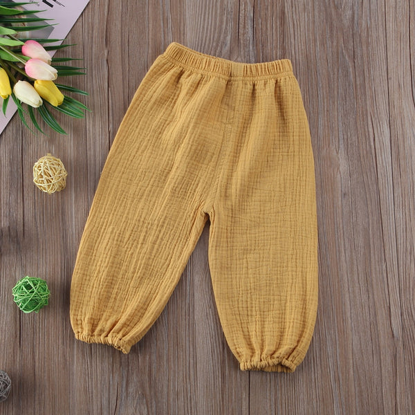 Baby Girl Cotton Leggings