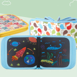 1 Set Portable Chalk Board Drawing Book