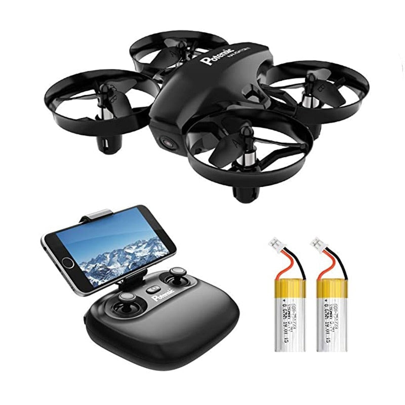 Mini Drone With Camera WiFi Fpv Altitude Hold Headless Mode 2.4G 6Axis RC Drone Quadcopter Toys For Children