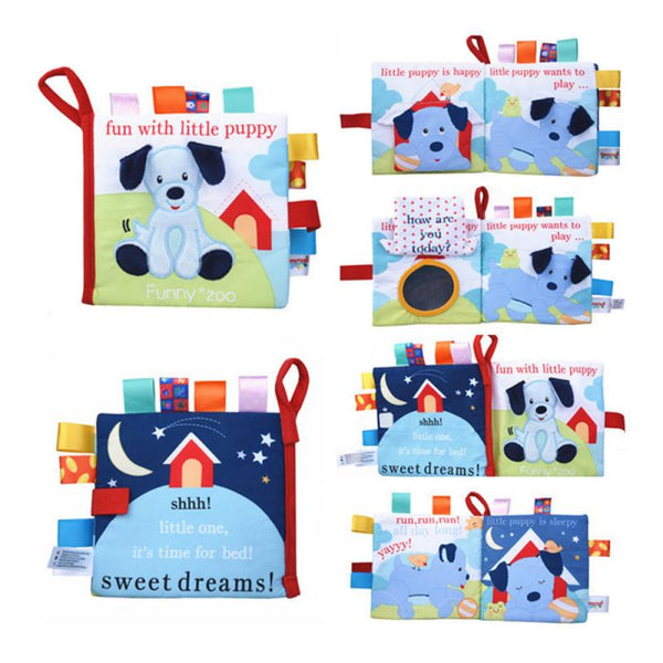 Baby Cloth Books Intelligence Development Educational Toy