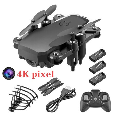 Mini RC Foldable drone With 4K HD Camera Wifi FPV Selfie Helicopter Altitude Hold Quadcopter