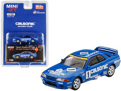 "Nissan Skyline GT-R Gr. A RHD (Right Hand Drive) #1 \Calsonic"" Japan Touring Car Championship JTCC (1991) Limited Edition to 1200 pieces Worldwide 1/64 Diecast Model Car by True Scale Minia"""