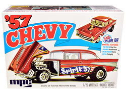 "Skill 2 Model Kit 1957 Chevrolet Gasser Flip Nose \Spirit of 57"" 1/25 Scale Model by MPC"""