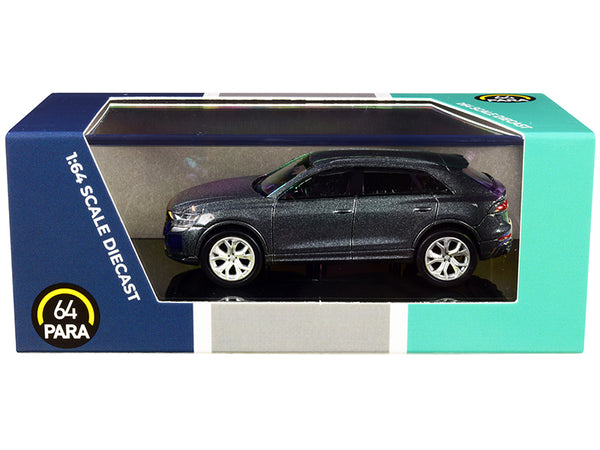 Audi RS Q8 Daytona Gray Metallic 1/64 Diecast Model Car by Paragon