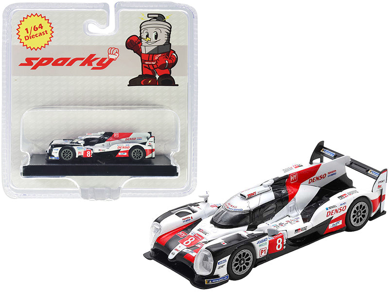 Toyota TS050 Hybrid #8 Toyota Gazoo Racing Winner 24 Hours of Le Mans (2019) 1/64 Diecast Model Car by Sparky