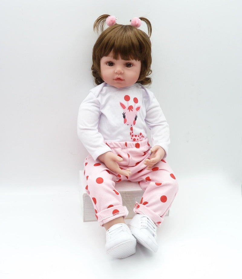 47cm soft silicone reborn toddler dolls