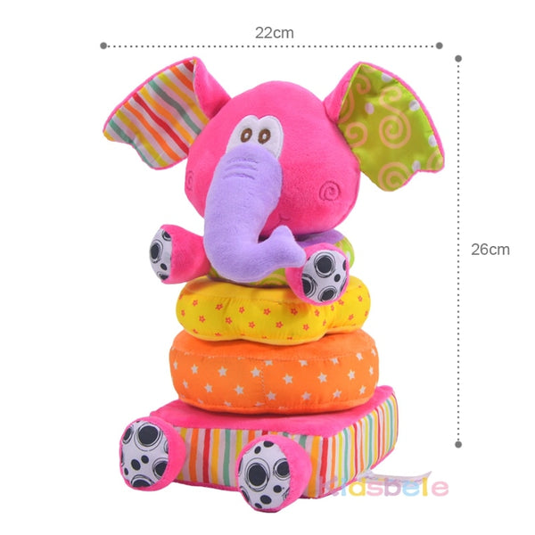 Stackable Baby Rattle Toys