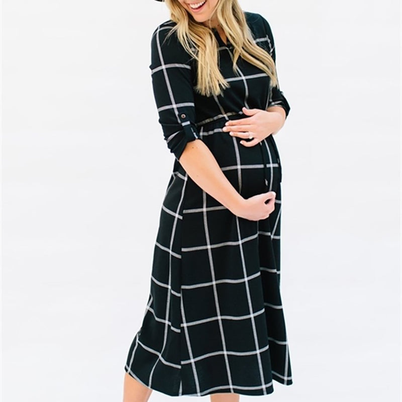 Women maternity pregnancy dresses