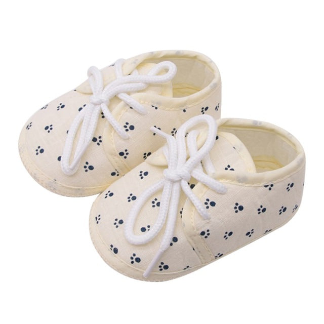 Baby Shoes I Love PaPa&MaMa Letter Printed Soft Bottom Footwear