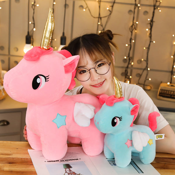 Cute Unicorn Plush Stuffed