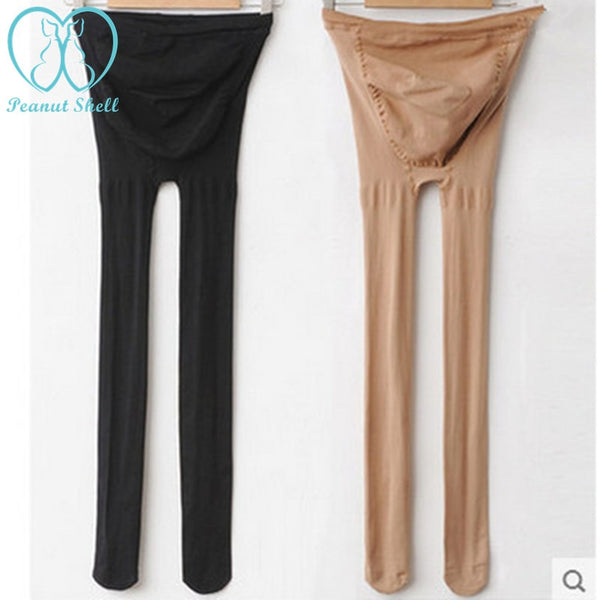 Maternity Belly Legging Elastic Strap Adjust Stocking Autumn Tights Clothes