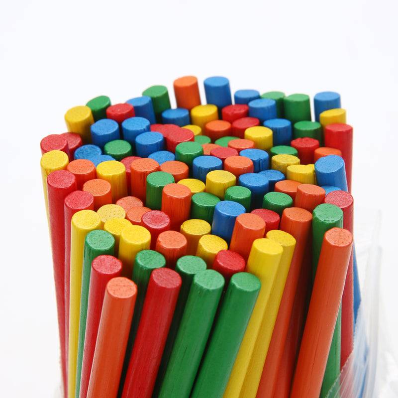 Baby Toys 100Pcs Bamboo Counting Sticks For Mathematics Teaching - Educational Toys