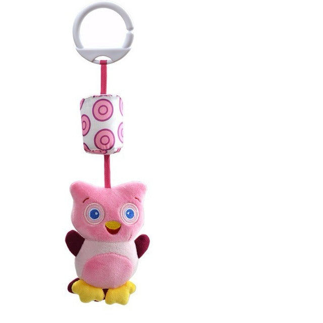 1Pcs New Infant Toys Mobile Baby Plush - Pink Owl - Soft Toys