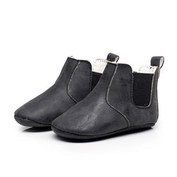 Baby Leather Soft Soled Anti-slip Boots Warm Winter Shoes