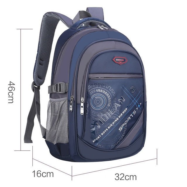 2018 Hot New Children School Bags For Teenagers Boys & Girls - Deep Blue B - Baby Accessories