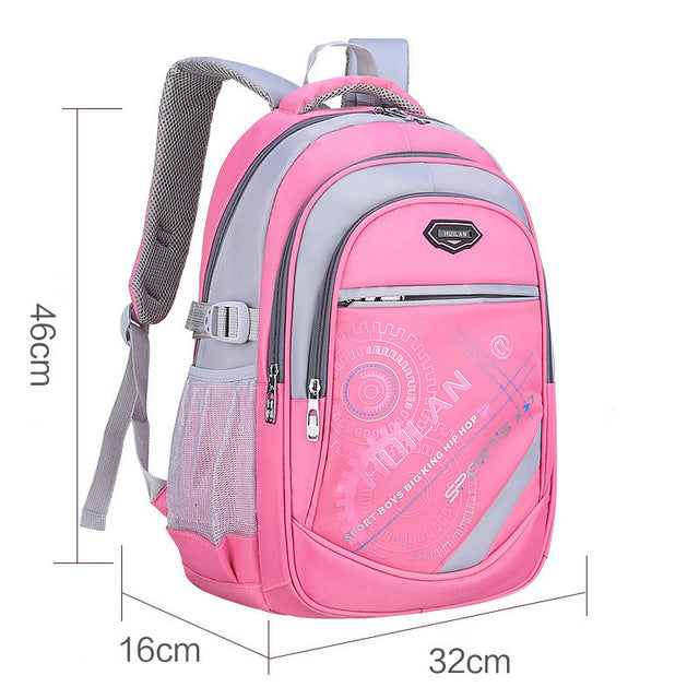 2018 Hot New Children School Bags For Teenagers Boys & Girls - Pink B - Baby Accessories