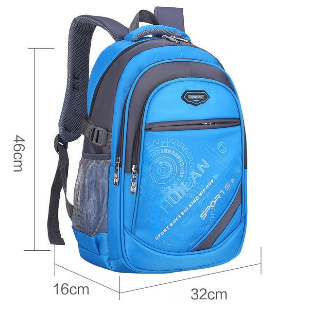 2018 Hot New Children School Bags For Teenagers Boys & Girls - Lake Blue B - Baby Accessories