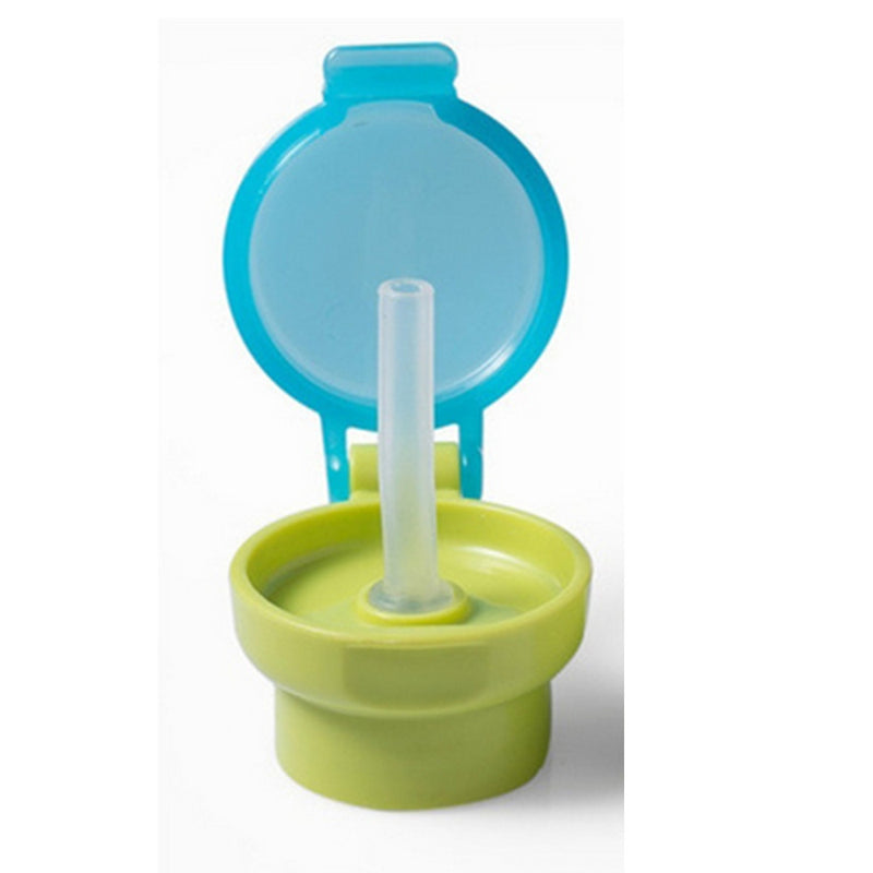 Portable Spill Proof Juice Soda Water Bottle Twist Cover Cap