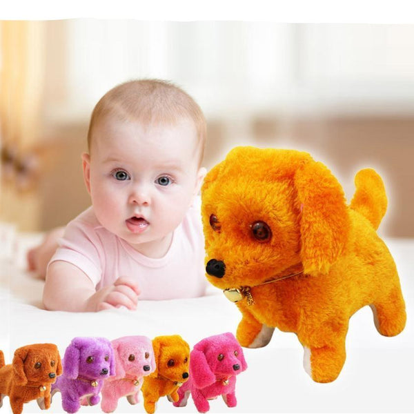 Music Light Cute Robot Dog Electronic Walking Pet Dog - Baby Toys