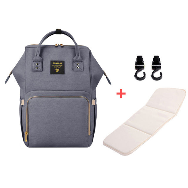 Mummy Maternity Diaper Bag - Gray H - Baby Accessories