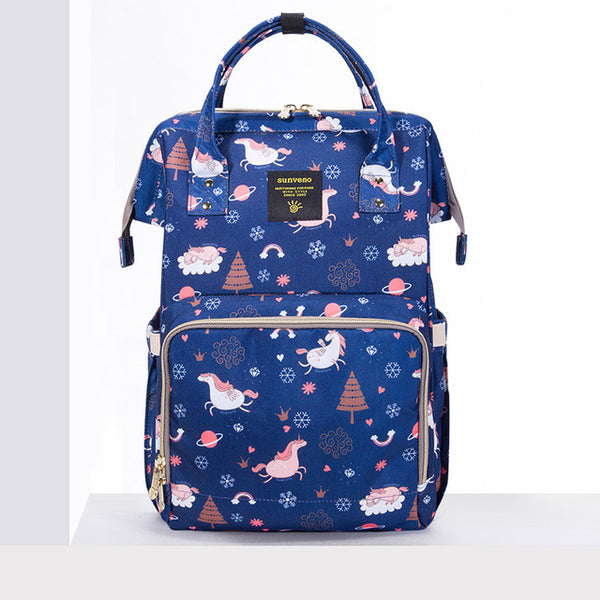Mummy Maternity Diaper Bag - Blue Dream Sky - Baby Accessories