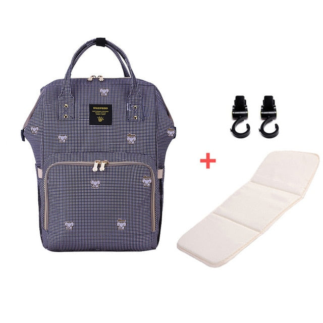 Mummy Maternity Diaper Bag - Elephant H - Baby Accessories