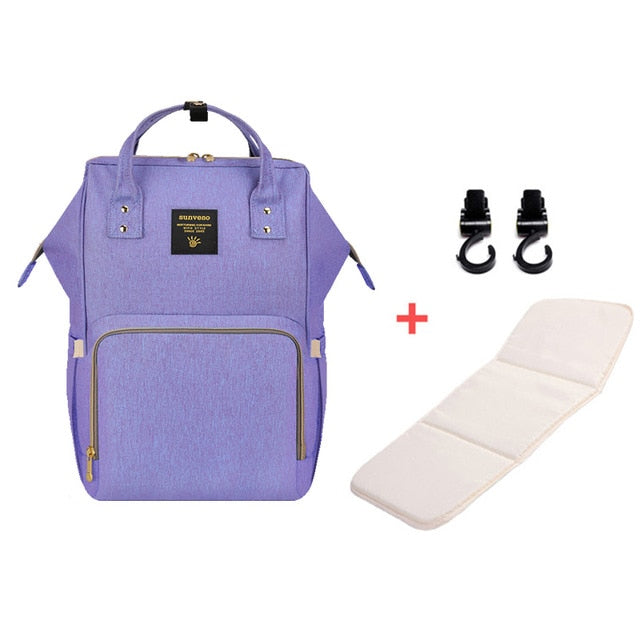 Mummy Maternity Diaper Bag - Blue Purple H - Baby Accessories