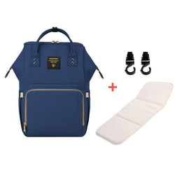 Mummy Maternity Diaper Bag - Navy Blue H - Baby Accessories
