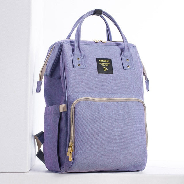 Mummy Maternity Diaper Bag - Blue Purple - Baby Accessories