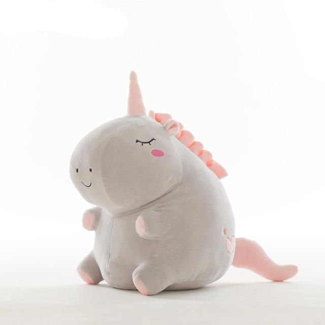 Cute Animal Stuffed Soft Pillow Baby Kids Toys For Girl Birthday Or Christmas Gift - 20Cm / Gray - Soft Toys