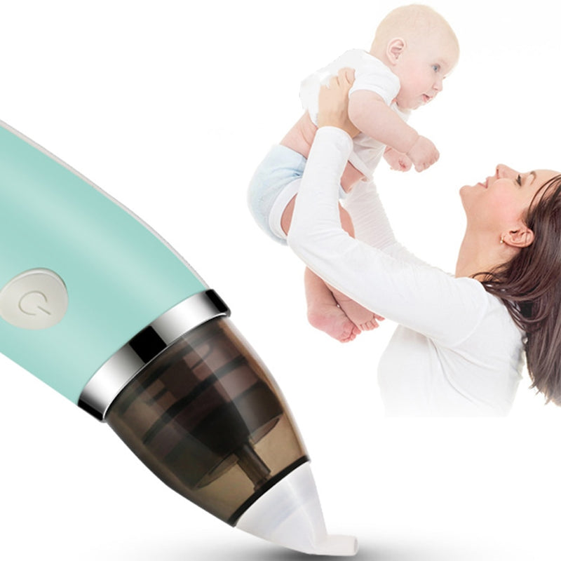 Baby Nasal Aspirator Electric Safe Hygienic Nose Cleaner - Baby Toys