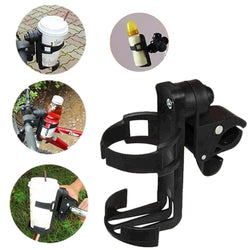Baby Stroller Cup Holder Universal Rotatable Holder