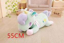Soft Horse Kawaii Rainbow Unicorn Doll Birthday Or Christmas Gift - Plush A - Soft Toys