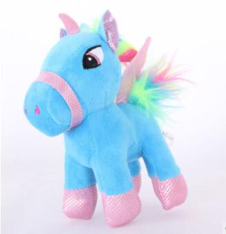 Soft Horse Kawaii Rainbow Unicorn Doll Birthday Or Christmas Gift - N 15Cm - Soft Toys