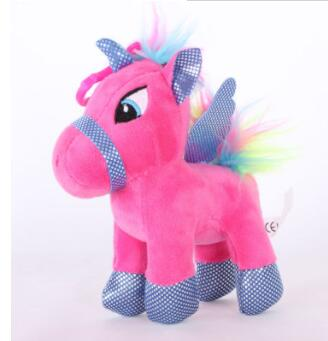 Soft Horse Kawaii Rainbow Unicorn Doll Birthday Or Christmas Gift - P 15Cm - Soft Toys