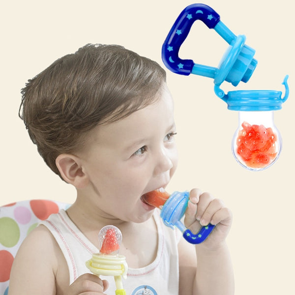 Fresh Fruit Food Kids Nipple Feeding / Safe Milk Feeder - Baby Accessories