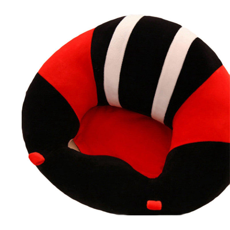 Baby Support Seat Sofa-Baby Learning To Sit - Red - Baby Toys