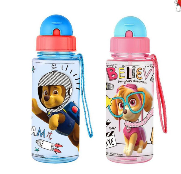 Genuine Paw patrol kids Feeding Bottle with straw