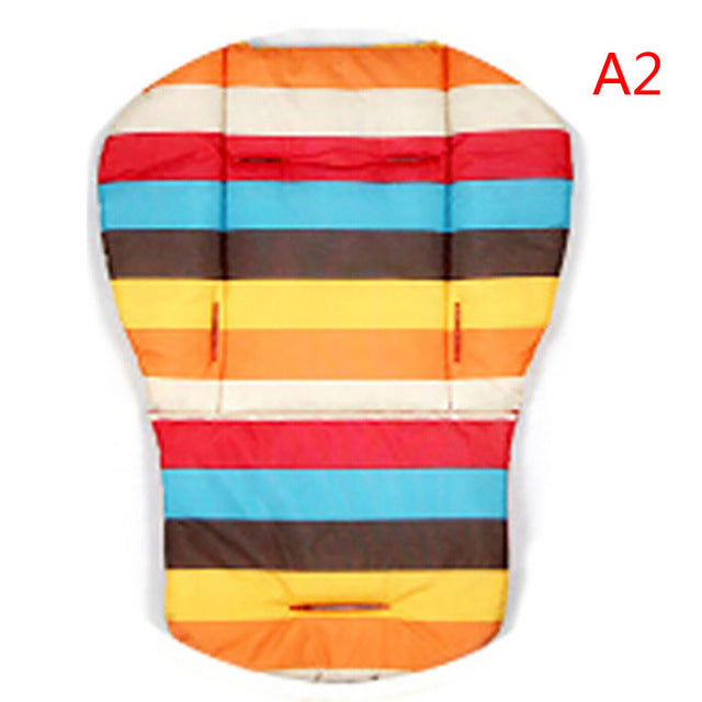 Car Colourful Soft Mattresses Carriages Seat Pad Stroller Mat Accessories