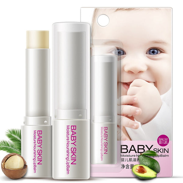 1 pcs Natural Plant Lip Balm Sweet lip balm Moisturising Baby Skin Care