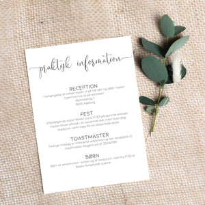 Simply invitation PDF