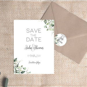 Greeny save the date