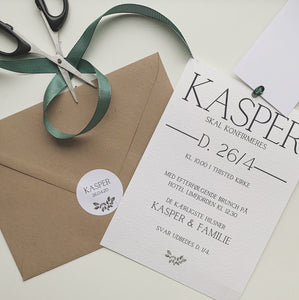 Kasper invitation